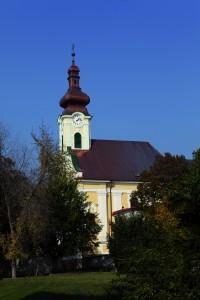 Kostol sv. Klimenta jeseň